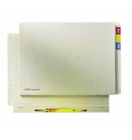 LEITZ Einstellhefter Orgacolor®, Kraftk.(RC), 260g/m², kfm. Heft., A4, cham [50st]