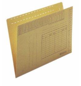 LEITZ Einstellmappe Orgacolor®, Natron(RC), 250g/m², A4, br [100st]