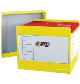 Pressel Hängebox Top-Portable, leer, A4, für: 50 Hängemappen, gelb