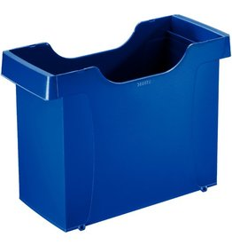 LEITZ Hängebox Uni-Box Plus, PS, leer, A4, 40x17x27,5cm, blau