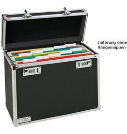 LEITZ Hängebox, leer, A4, 36,6x17,8x32,2cm, für: 15Hängem., schwarz/chrom