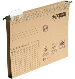 ELBA Hängesammler vertic® ULTIMATE®, m.Reiter, A4, Boden: Hartpap., 2cm, br