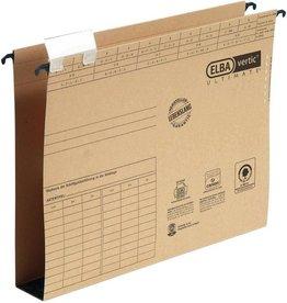 ELBA Hängesammler vertic® ULTIMATE®, m.Reiter, A4, Boden: Hartpap., 4cm, br
