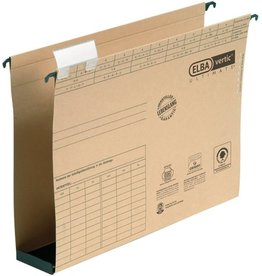 ELBA Hängesammler vertic® ULTIMATE®, m.Reiter, A4, Boden: Kst., 6cm, br