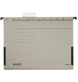 LEITZ Hängetasche ALPHA®, Karton, 250g/m², m.Reiter, seitl. Frösche, A4, gr