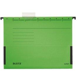 LEITZ Hängetasche ALPHA®, Karton, m.Reiter, seitl. Frösche, A4, grün