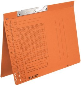 LEITZ Pendelhefter, Manila(RC), 250 g/m², kfm. Heft., A4, orange