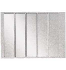 LEITZ Schutzetikett Orgacolor® plus, Fol., sk, blanko, 46x195mm, farbl.