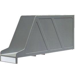 LEITZ Stehsammler OrgaClass®, PS, A4, 9,7x33,6x15,6cm, gr
