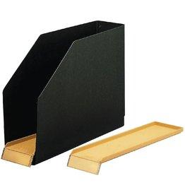 ELBA Stehsammler, Hartpappe (RC), A4 quer, 8,5x31,8x24cm, schwarz