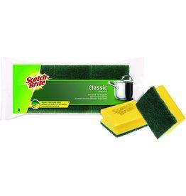 Scotch-Brite Reinigungsschwamm Classic, 9 x 7 x 4,5 cm, gelb/grün
