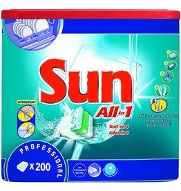 Sun Spülmaschinengeschirrreiniger All in 1, Tab, Kart.