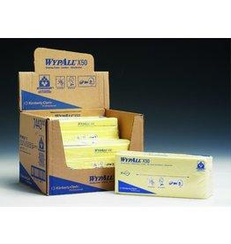 WYPALL* Wischtuch X50, HYDROKNIT®, Interfold, 25x42cm, gelb