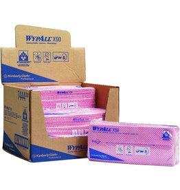WYPALL* Wischtuch X50, HYDROKNIT®, Interfold, 25x42cm, ro
