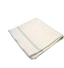 BÜRSTENMANN Bodentuch, Vlies, 50 x 60 cm, weiß
