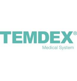 TEMDEX Eimer, für Spezialwischtuch mit Drehdeckel, Kunststoff, rund, 5,5 l