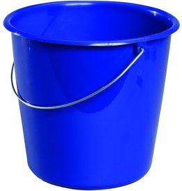 Meiko Eimer, Kst., ohne Ausgießer, rund, 5l, blau