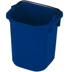 RubbermaidCommercial Products Eimer, PP, mit Ausgießer, viereckig, 5l, 22x20,5x21,5cm, blau