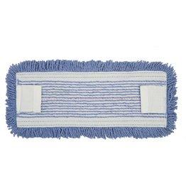 RubbermaidCommercial Products Moppbezug, Sani, Baumwolle/Synthetik, 41x14cm, blau