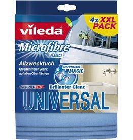 vileda Reinigungstuch Universal, Mikrofaser, blau