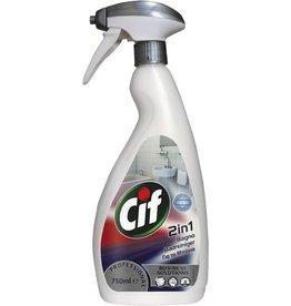 Cif PROFESSIONAL Sanitärreiniger Badreiniger 2in1, flüssig, Sprühflasche