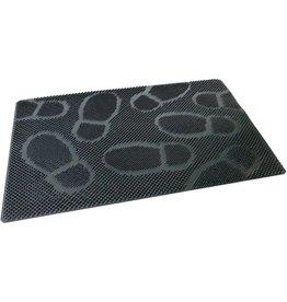 BÜRSTENMANN Schmutzfangmatte Spikes, für Außenbereich, viereckig, 60 x 40 cm, grau