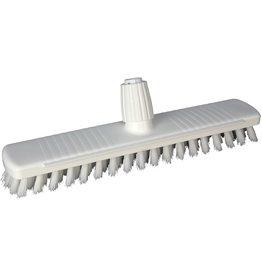 BÜRSTENMANN Schrubber HACCP, Kunststoff, Borsten: PBT, B: 40 cm, weiß