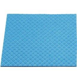 Meiko Schwammtuch, feucht, Maschinenwäsche 60° C, 18 x 20 cm, blau