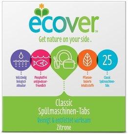 ecover Spülmaschinengeschirrreiniger Classic, Tab, Packung, Zitrone