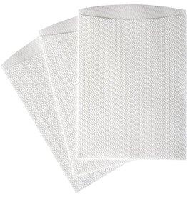 TEMDEX Waschhandschuh, Airlaid, 16 x 22 cm, weiß, 20 x 50 Stück