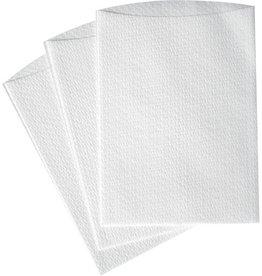 TEMDEX Waschhandschuh, Airlaid/PE, 16 x 22 cm, weiß, 20 x 50 Stück
