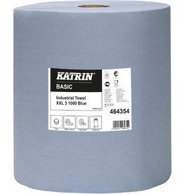 KATRIN Wischtuch Basic XXL, Tissue, 3lg., Rolle, 1.000Tü., 36x36cm