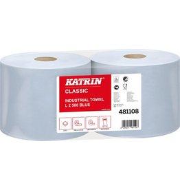 KATRIN Wischtuch Classic L, Tissue, 2lg., Rolle, 500Tü., 22x38cm