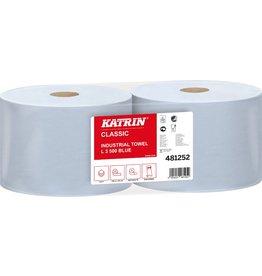 KATRIN Wischtuch Classic L, Tissue, 3lg., Rolle, 500Tü., 22x38cm