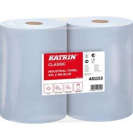 KATRIN Wischtuch Classic XXL, Tissue, 2lg., Rolle, 500Tü., 38x38cm