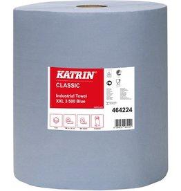 KATRIN Wischtuch Classic XXL, Tissue, 3lg., Rolle, 500Tü., 38x38cm