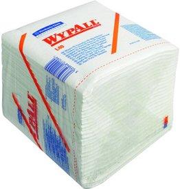 WYPALL* Wischtuch L40, Zellstoff/Latex, 1/4 Falz, 30,5x31,8cm, weiß