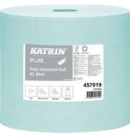 KATRIN Wischtuch Plus Poly Roll XL, 1lg., Rolle, 550 Tücher, 32,5x36,5cm