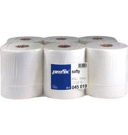 profix Wischtuch softy, Tissue, 2lg., Rolle, 500Tü., 36x22cm, hochwe