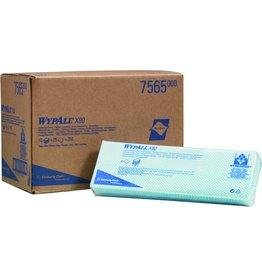 WYPALL* Wischtuch X80, HYDROKNIT®, 42x35cm, blau