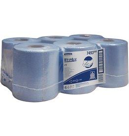 WYPALL* Wischtuch, L10, Airflex®, 1lg., Rolle, 6x525Tü., 18,5x38cm, blau