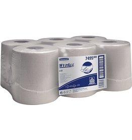 WYPALL* Wischtuch, L10, Airflex®, 1lg., Rolle, 6x525Tü., 18,5x38cm, weiß