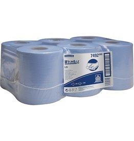 WYPALL* Wischtuch, L20, Airflex®, 2lg., Rolle, 6x400Tü., 18,5x38cm, blau