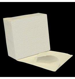 profix Wischtuch, Tissue(RC), 3lg., ZZ-Falz., 20x50 Tü., 32 x 33 cm, weiß