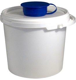TEMDEX Wischtuchspender, 5 l, PP, weiß