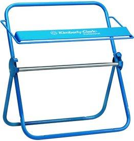 Kimberly-Clark Professional* Wischtuchspender, Wandhalter, Met., für: 1 Großrolle, blau