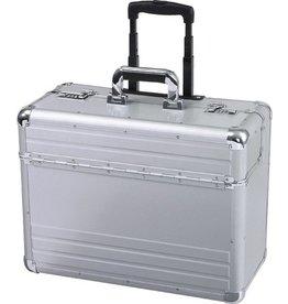 ALUMAXX Pilotenkoffertrolley, OMEGA, Alu, 48 x 23 x 38 cm, silber