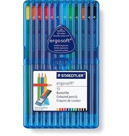 STAEDTLER Farbstift ergosoft®, 3eck., Schaft: Schreibf., Schreibf.: 12er so