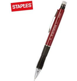 STAPLES Druckbleistift Touch, mit Radiergummi, Minen-Ø: 0,7mm, Schaft: burgund