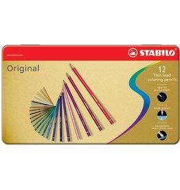 STABILO Farbstift Original, Schreibf.: 12er sortiert